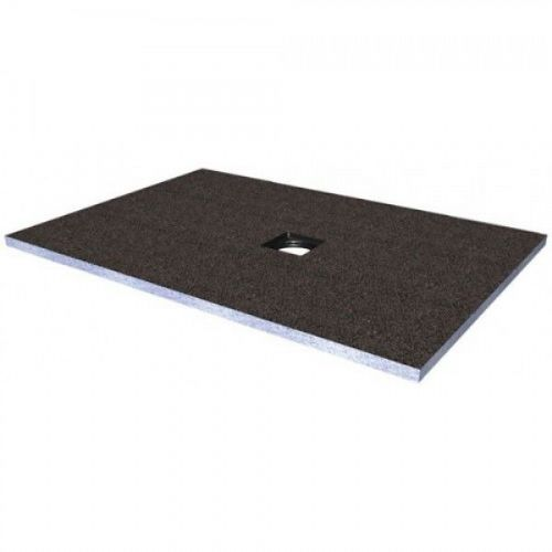 Abacus Elements Square Level Access Shower Tray 30mm High With Centre Drain - 1000mm x 1000mm